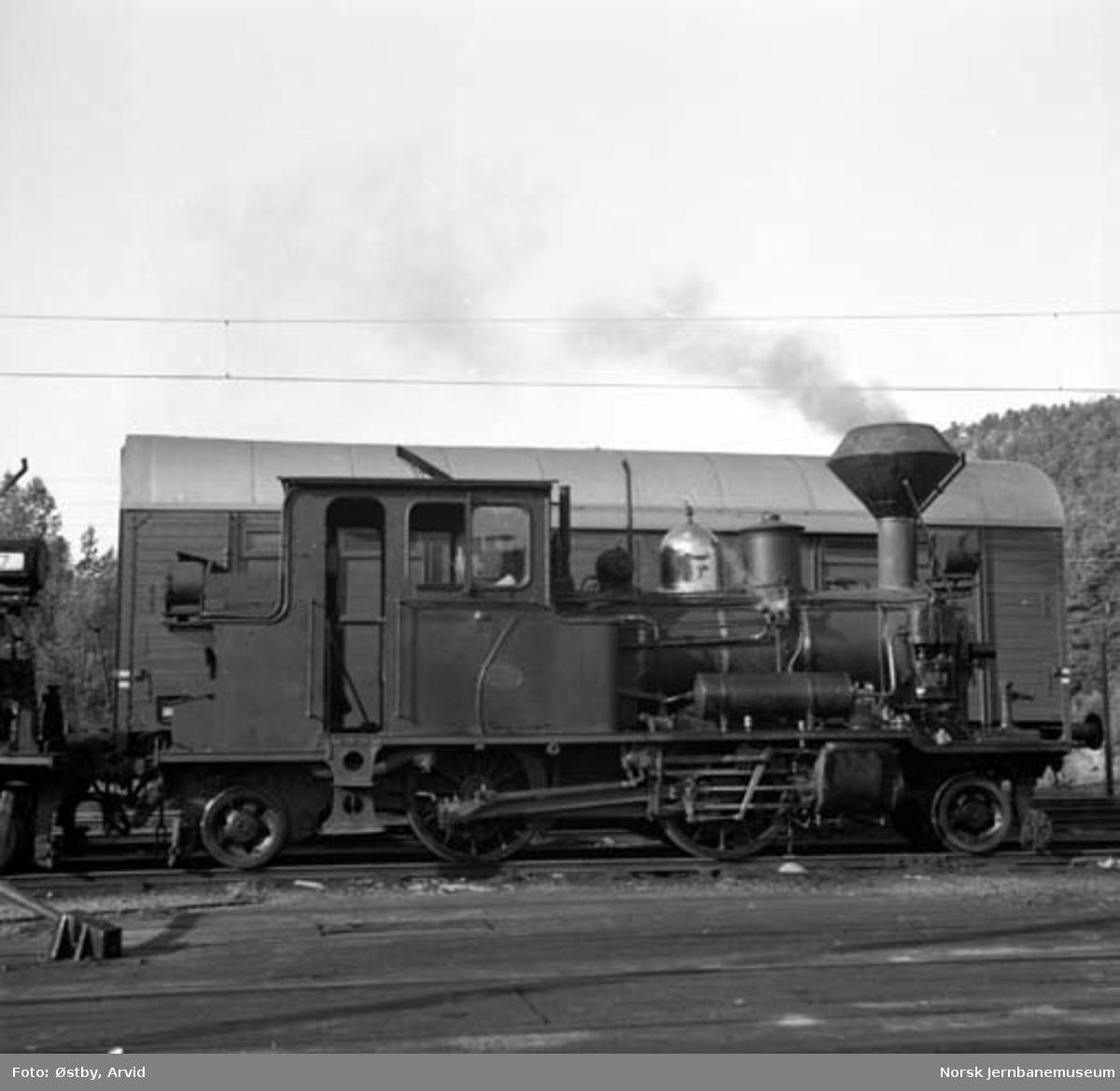 Setesdalsbanens damplokomotiv type XXII nr. 6