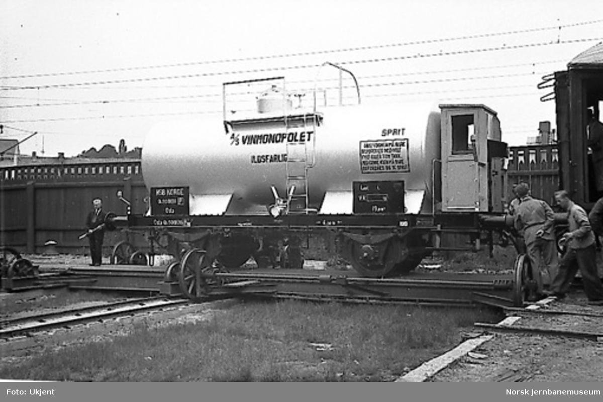Tankvogn Qf3 500136 bygget til Vinmonopolet