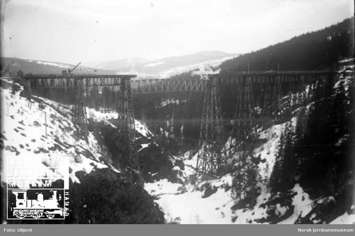 Drøia viadukt : sprenging og demontering