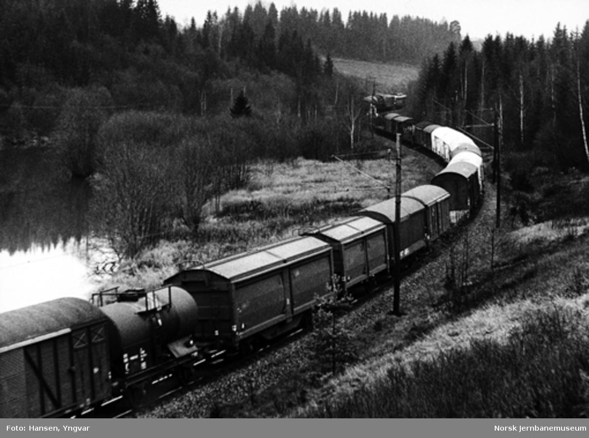 Godstog på Hovedbanen