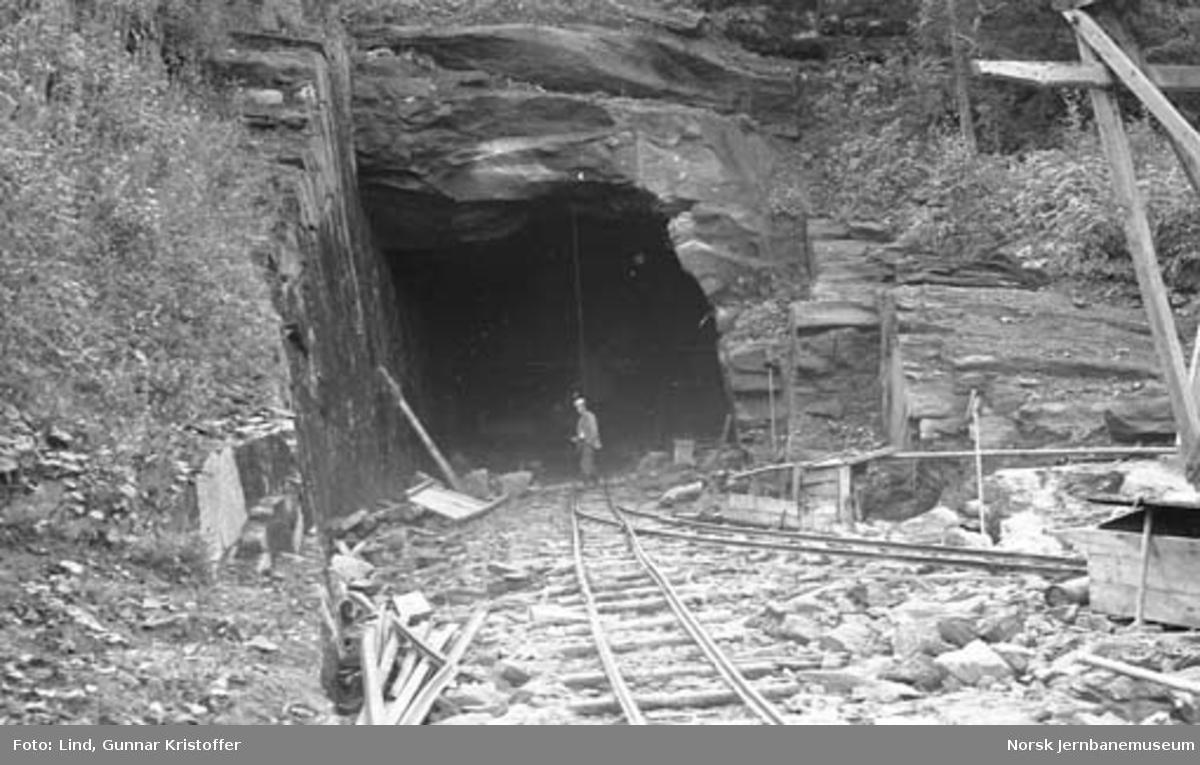 Dunderlandsbanens ombygging : påslag Kalvhagen tunnel nord