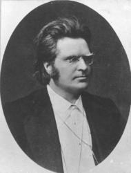 Portrett, Bjørnstjerne Bjørnson (1832-1910).