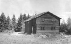 Stue fra Smedstad, Gjerdrum, Øvre Romerike. Fotografert på Norsk folkemuseum, 1925.